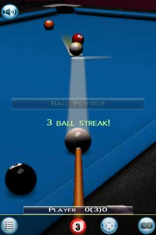 Screenshot World Championship Pool 2009