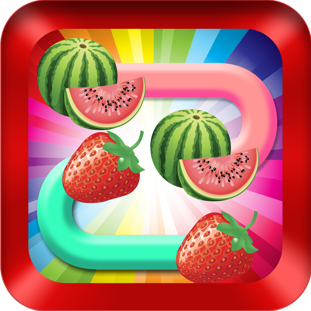 2048 AAA Fruit Flow Awesome Make The Bridge and Connect Match Fruit's Pair